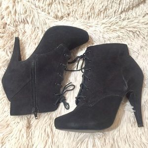 Call It Spring Lace Up Platform High Heel Boots 10